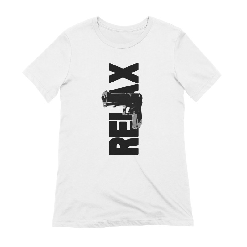 RE⅃AX Women's Extra Soft T-Shirt by Shadeprint's Artist Shop