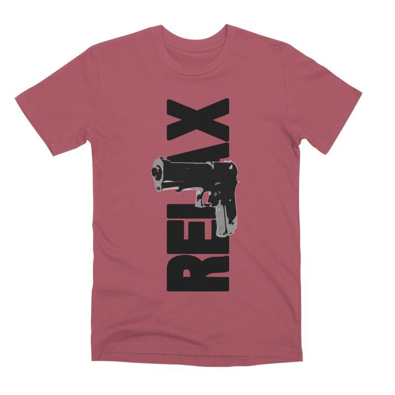 RE⅃AX Men's Premium T-Shirt by Shadeprint's Artist Shop
