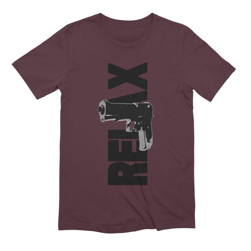 RE⅃AX Men's Extra Soft T-Shirt by Shadeprint's Artist Shop