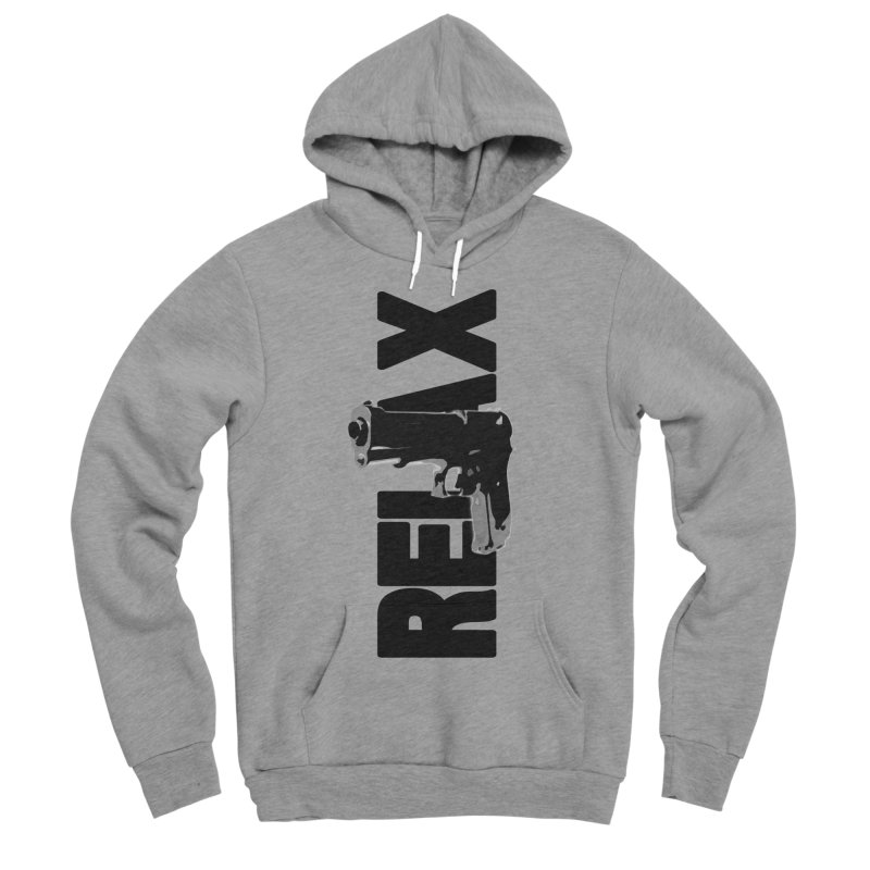 RE⅃AX Women's Sponge Fleece Pullover Hoody by Shadeprint's Artist Shop