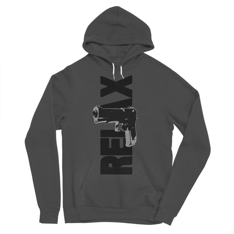 RE⅃AX Men's Sponge Fleece Pullover Hoody by Shadeprint's Artist Shop