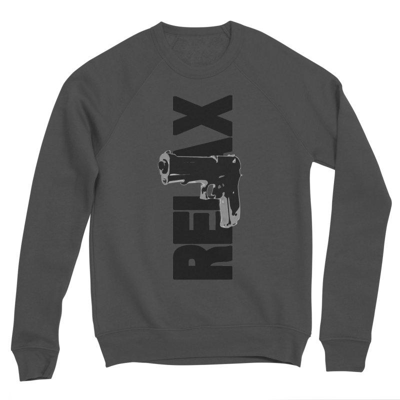 RE⅃AX Women's Sponge Fleece Sweatshirt by Shadeprint's Artist Shop
