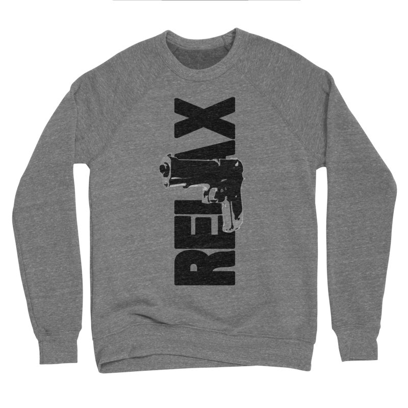 RE⅃AX Men's Sponge Fleece Sweatshirt by Shadeprint's Artist Shop