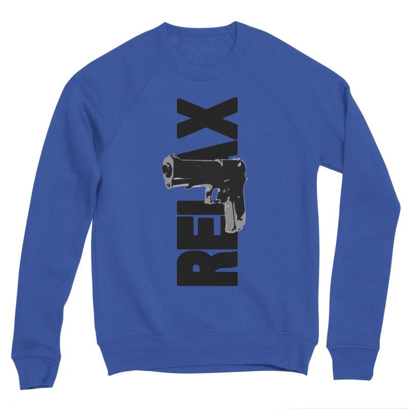 RE⅃AX Men's Sponge Fleece Sweatshirt by Shadeprint's Artist Shop