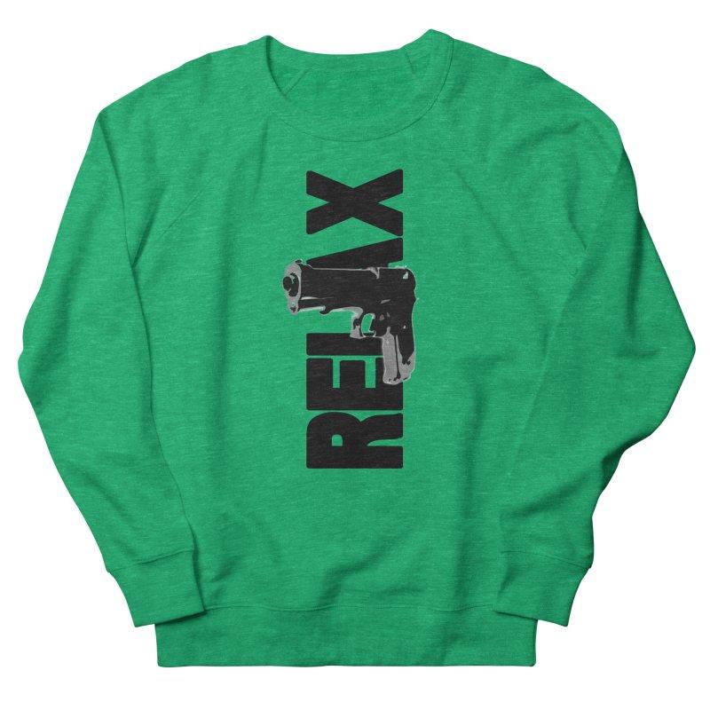 RE⅃AX Women's Sweatshirt by Shadeprint's Artist Shop