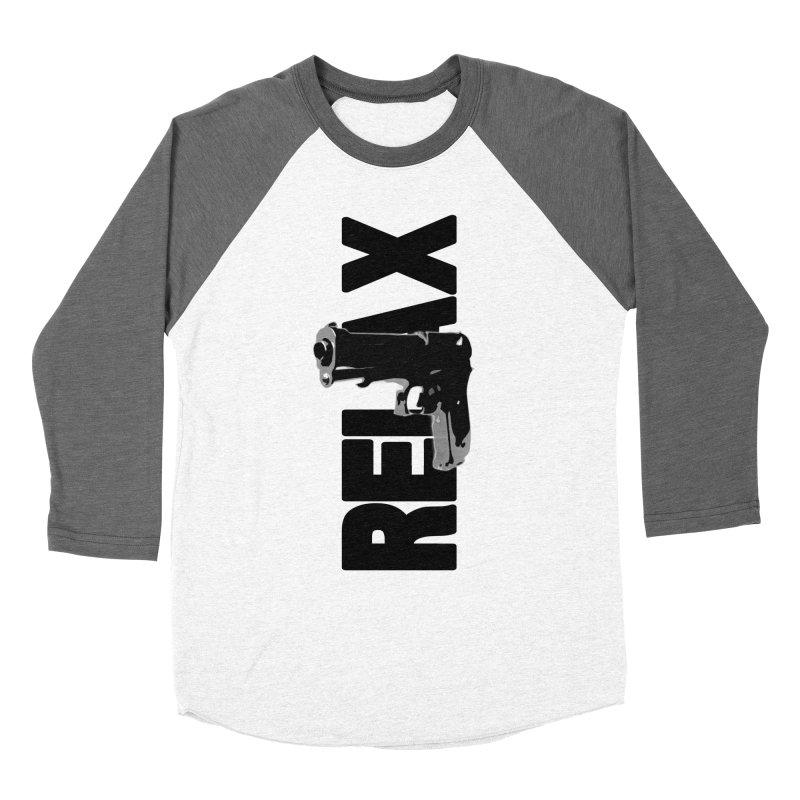 RE⅃AX Women's Longsleeve T-Shirt by Shadeprint's Artist Shop