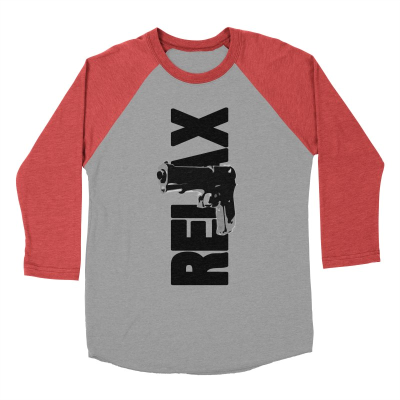 RE⅃AX Men's Longsleeve T-Shirt by Shadeprint's Artist Shop