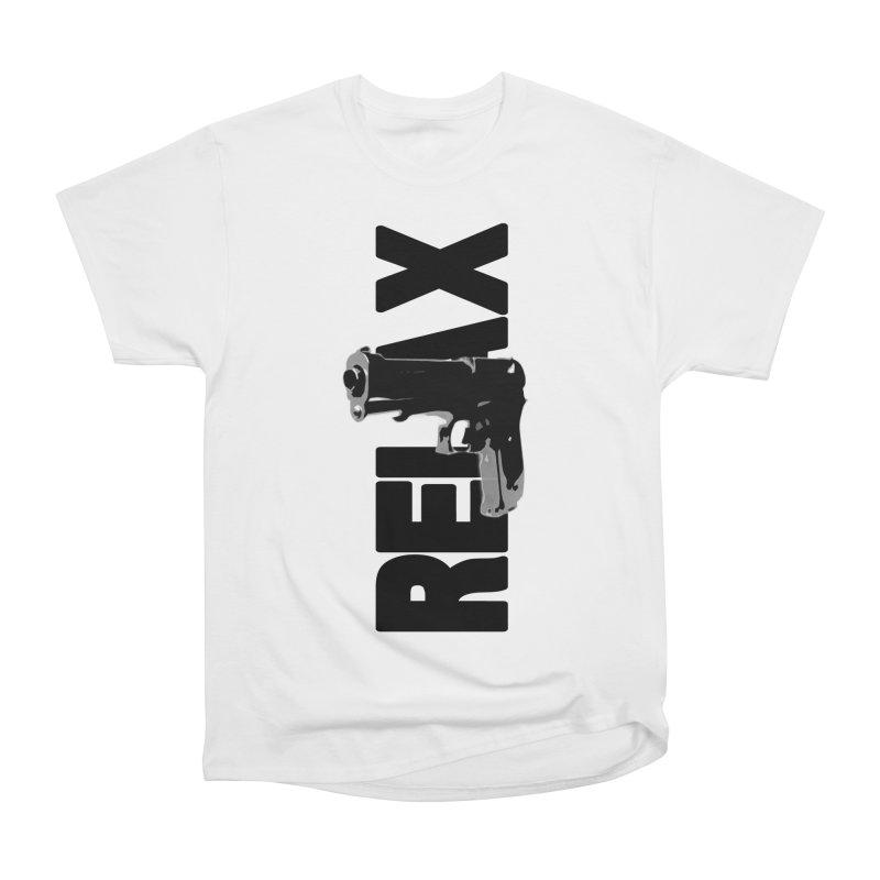 RE⅃AX Women's Heavyweight Unisex T-Shirt by Shadeprint's Artist Shop
