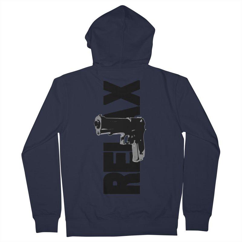 RE⅃AX Men's Zip-Up Hoody by Shadeprint's Artist Shop