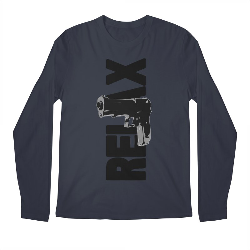 RE⅃AX Men's Regular Longsleeve T-Shirt by Shadeprint's Artist Shop