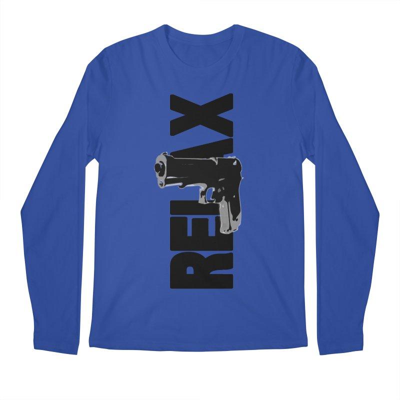 RE⅃AX Men's Regular Longsleeve T-Shirt by Shadeprint's Artist Shop