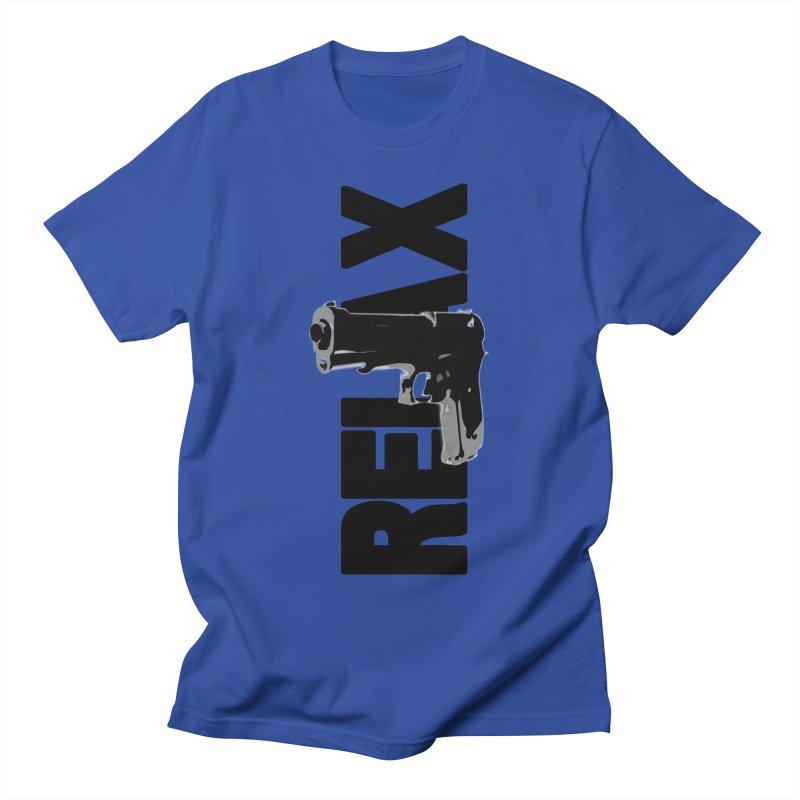 RE⅃AX Women's Regular Unisex T-Shirt by Shadeprint's Artist Shop