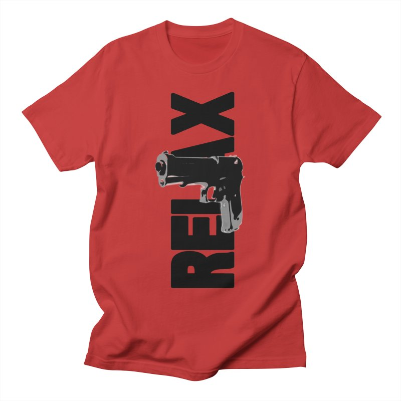RE⅃AX Men's Regular T-Shirt by Shadeprint's Artist Shop