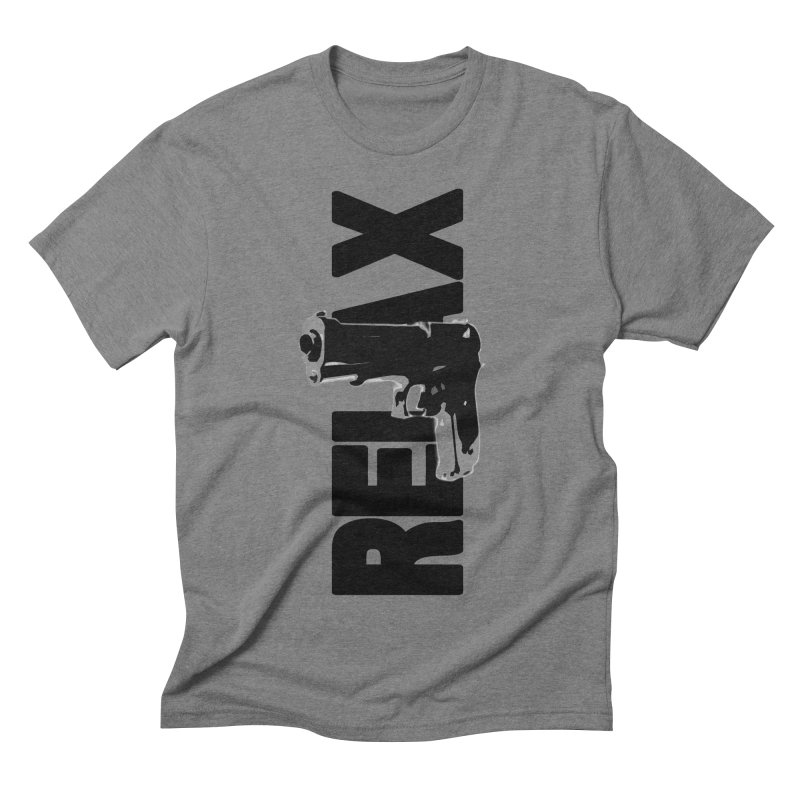 RE⅃AX Men's Triblend T-Shirt by Shadeprint's Artist Shop