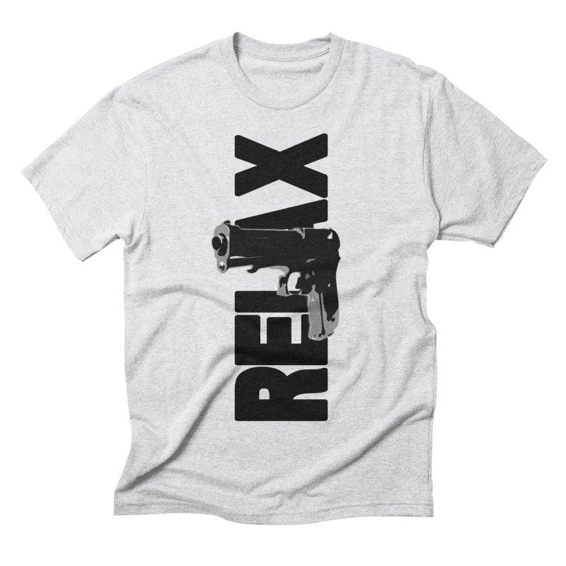 RE⅃AX Men's Triblend T-Shirt by Shadeprint's Artist Shop
