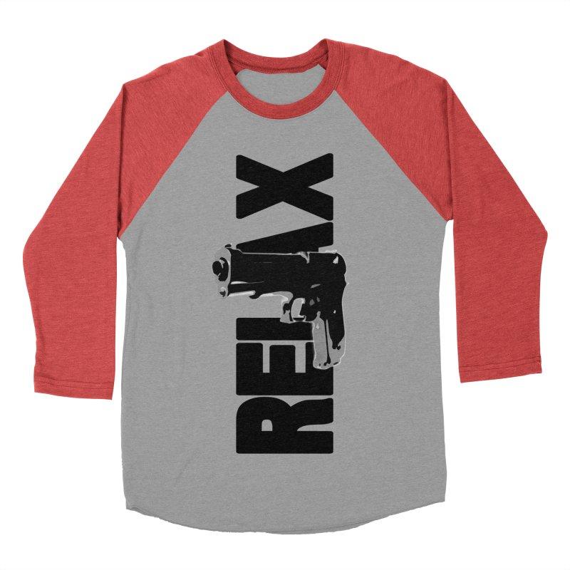 RE⅃AX Men's Longsleeve T-Shirt by Shadeprint's Artist Shop