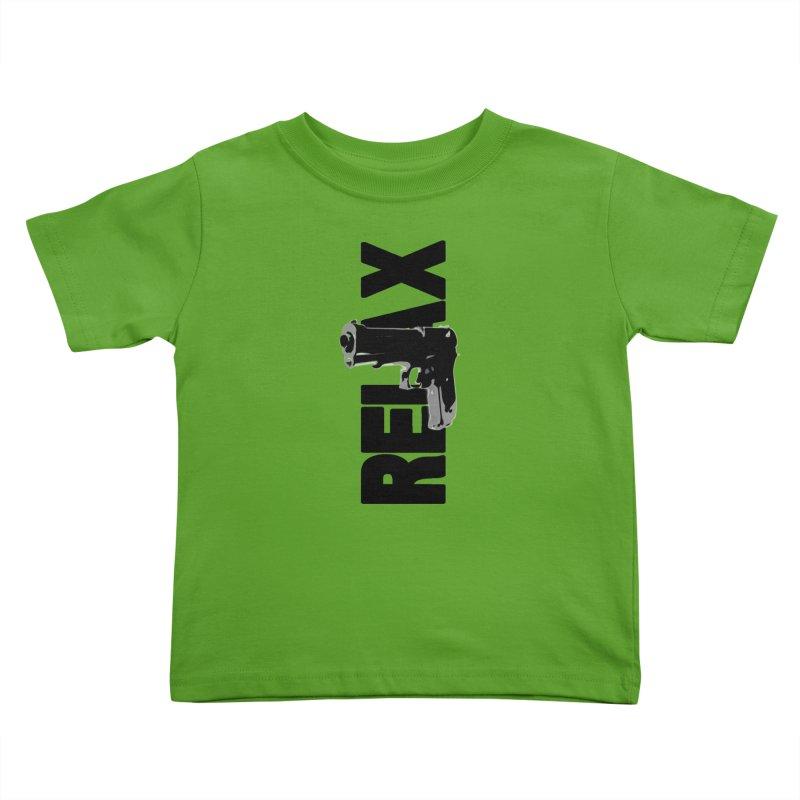 RE⅃AX Kids Toddler T-Shirt by Shadeprint's Artist Shop