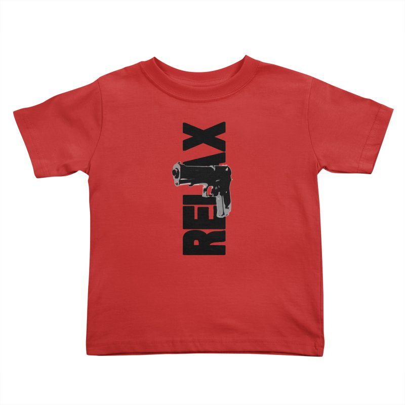 RE⅃AX Kids Toddler T-Shirt by Shadeprint's Artist Shop