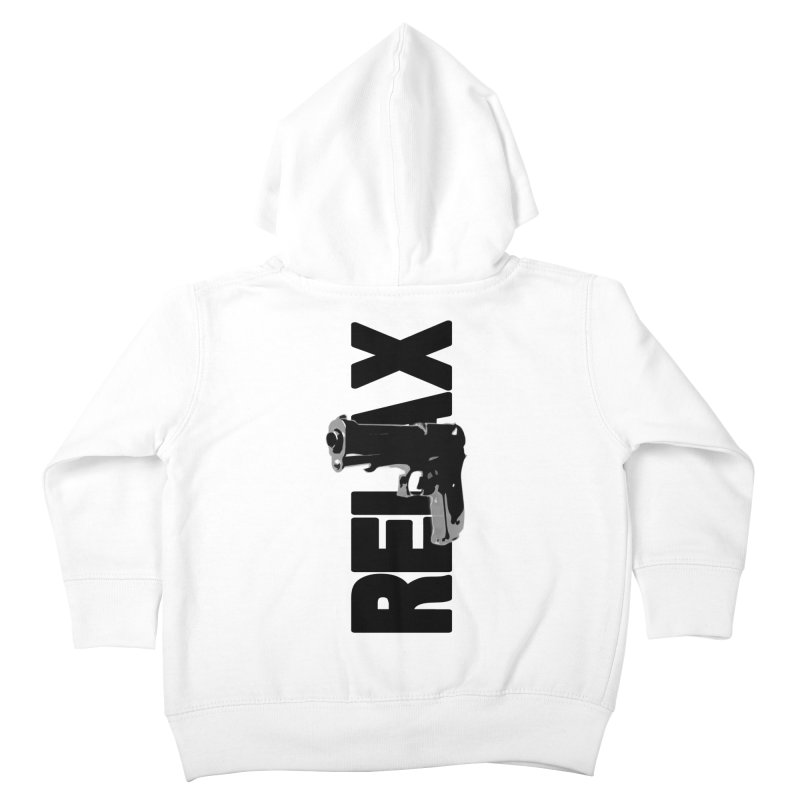 RE⅃AX Kids Toddler Zip-Up Hoody by SHADEPRINT.DESIGN