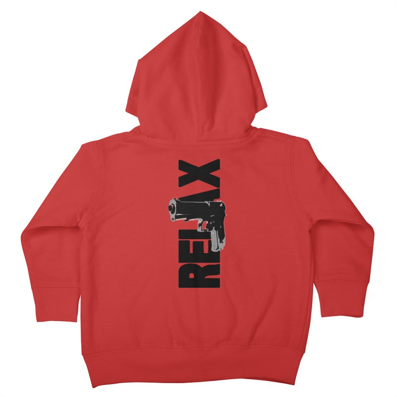 RE⅃AX Kids Toddler Zip-Up Hoody by Shadeprint's Artist Shop