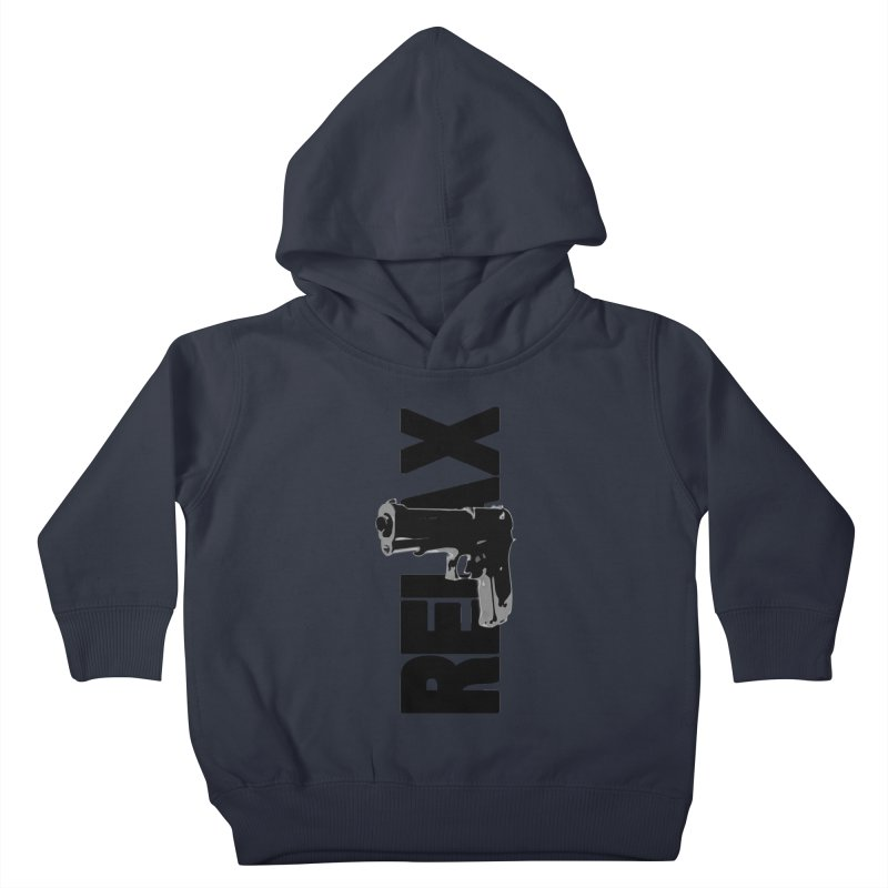 RE⅃AX Kids Toddler Pullover Hoody by SHADEPRINT.DESIGN