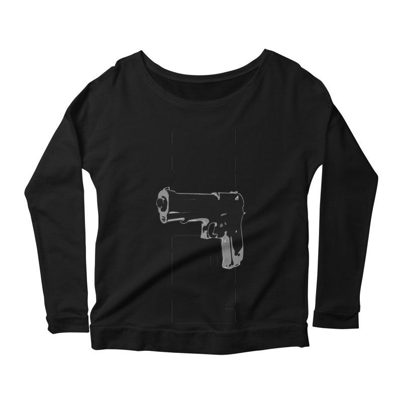 RE⅃AX Women's Scoop Neck Longsleeve T-Shirt by Shadeprint's Artist Shop