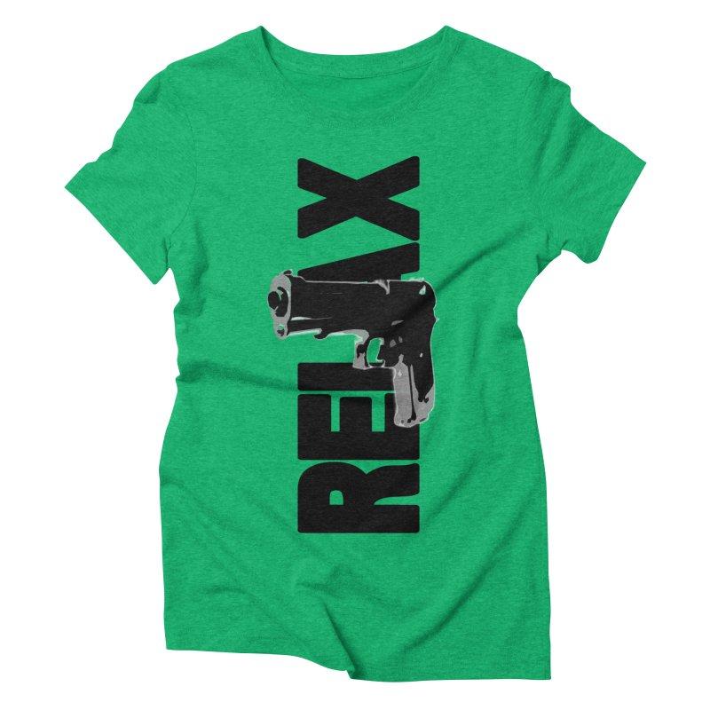 RE⅃AX Women's Triblend T-Shirt by Shadeprint's Artist Shop