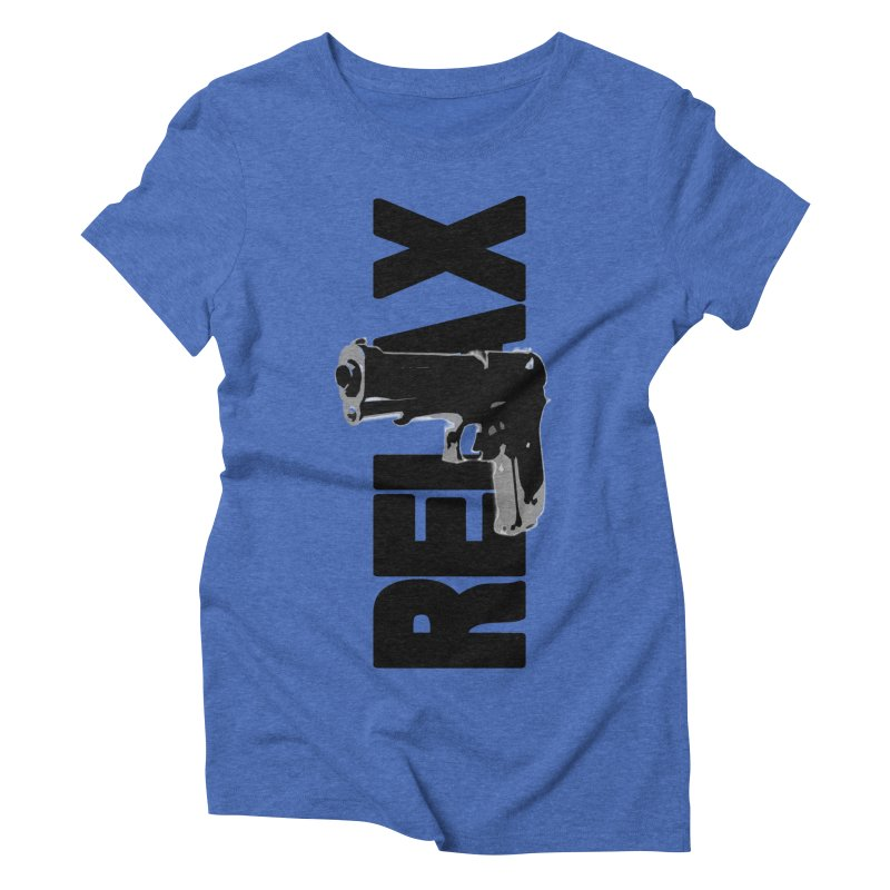 RE⅃AX Women's Triblend T-Shirt by Shadeprint's Artist Shop