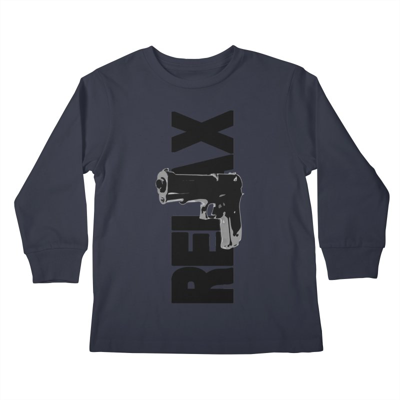 RE⅃AX Kids Longsleeve T-Shirt by Shadeprint's Artist Shop