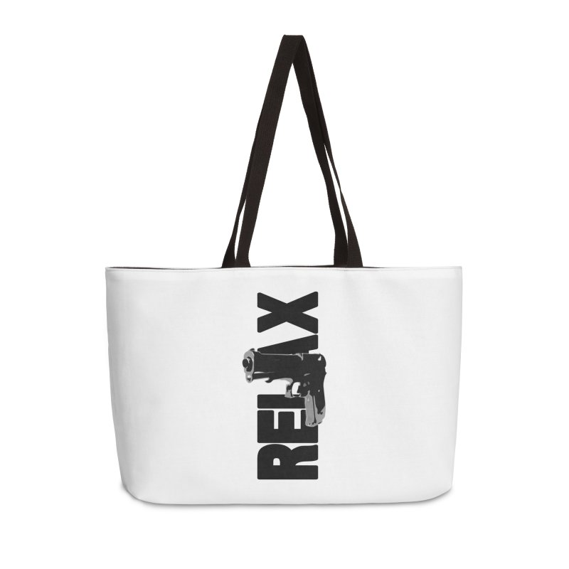 RE⅃AX Accessories Bag by Shadeprint's Artist Shop