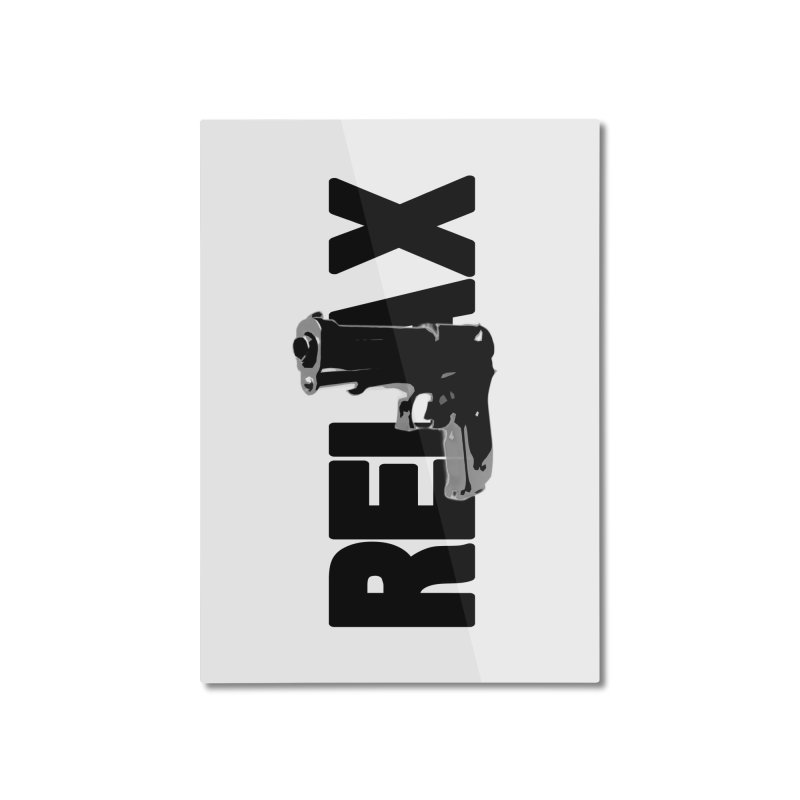 RE⅃AX Home Mounted Aluminum Print by Shadeprint's Artist Shop