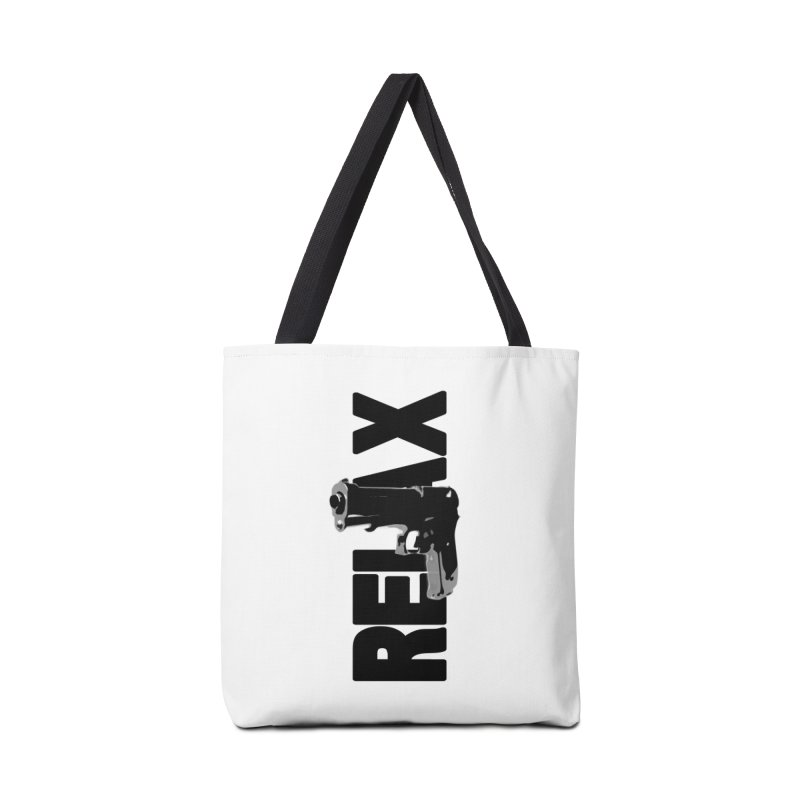 RE⅃AX Accessories Tote Bag Bag by Shadeprint's Artist Shop