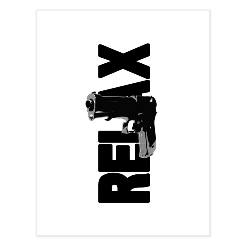 RE⅃AX Home Fine Art Print by Shadeprint's Artist Shop
