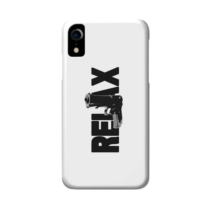RE⅃AX Accessories Phone Case by SHADEPRINT.DESIGN