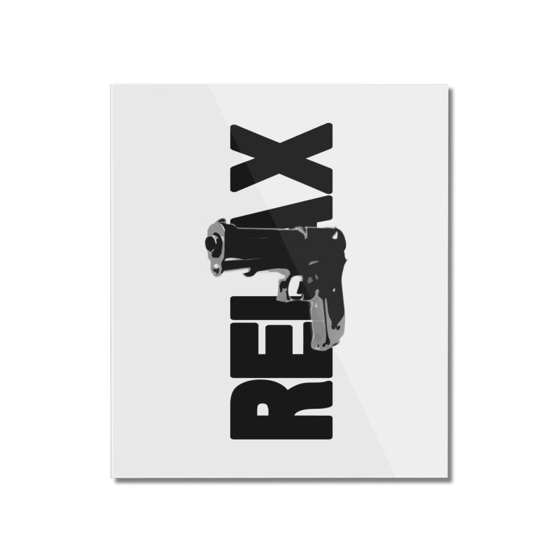 RE⅃AX Home Mounted Acrylic Print by Shadeprint's Artist Shop