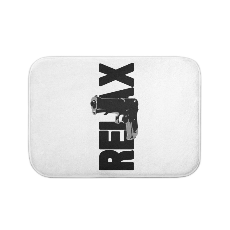 RE⅃AX Home Bath Mat by Shadeprint's Artist Shop