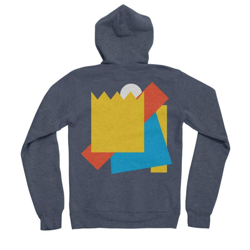 Holomew Men's Sponge Fleece Zip-Up Hoody by Shadeprint's Artist Shop