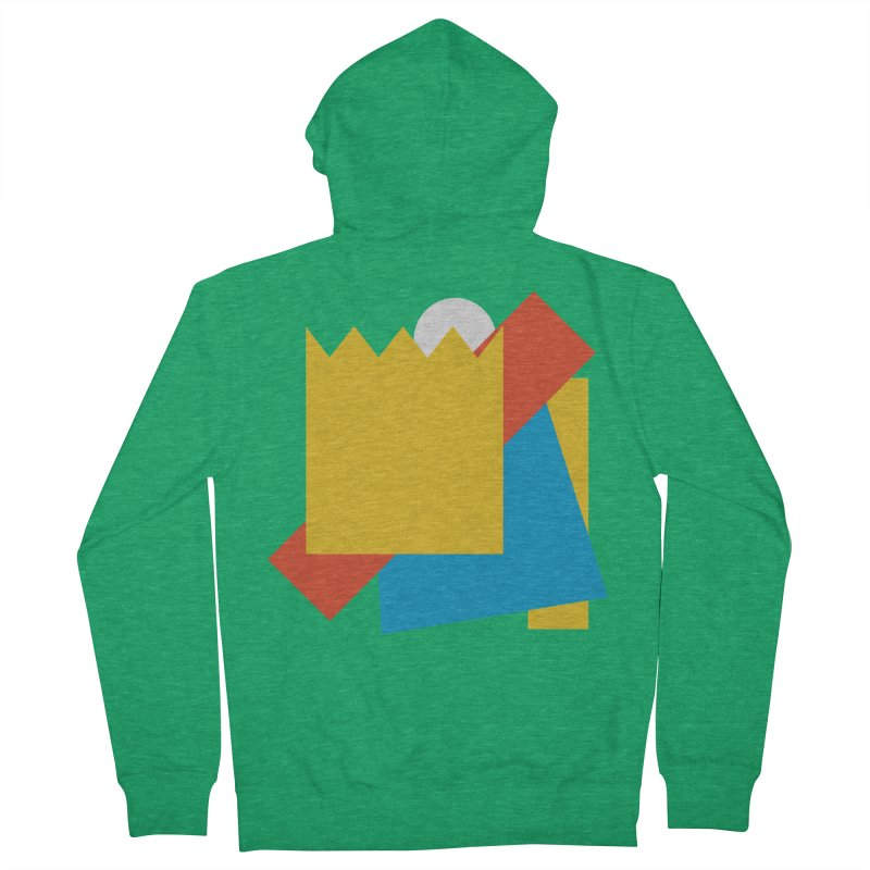 Holomew Men's French Terry Zip-Up Hoody by Shadeprint's Artist Shop