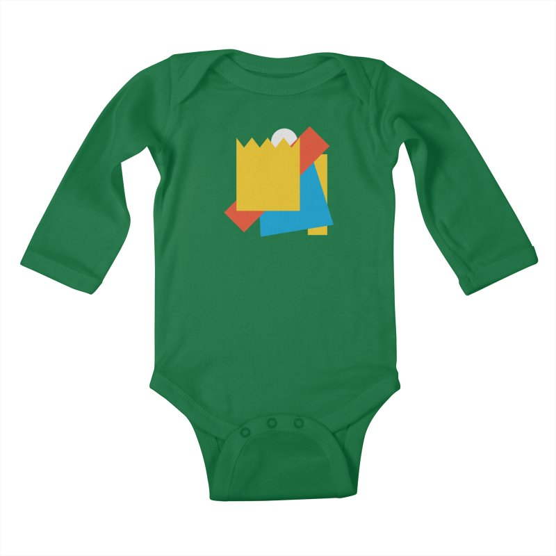 Holomew Kids Baby Longsleeve Bodysuit by Shadeprint's Artist Shop
