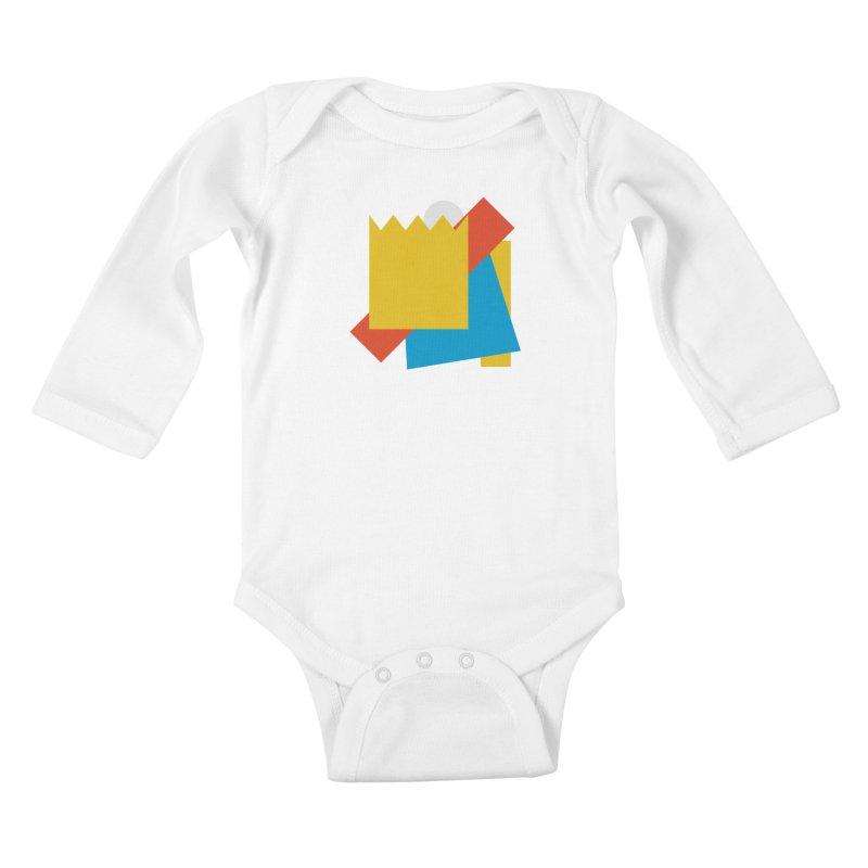 Holomew Kids Baby Longsleeve Bodysuit by Shadeprint's Artist Shop