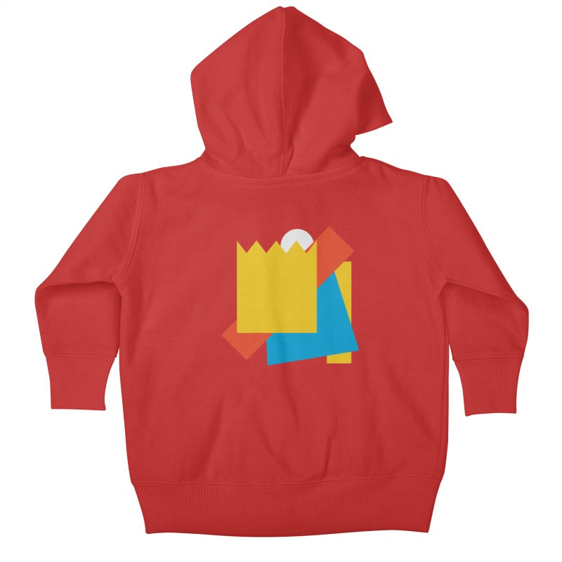 Holomew Kids Baby Zip-Up Hoody by SHADEPRINT.DESIGN
