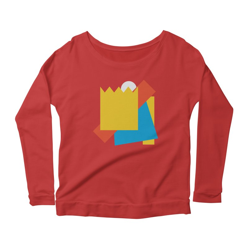 Holomew Women's Scoop Neck Longsleeve T-Shirt by Shadeprint's Artist Shop
