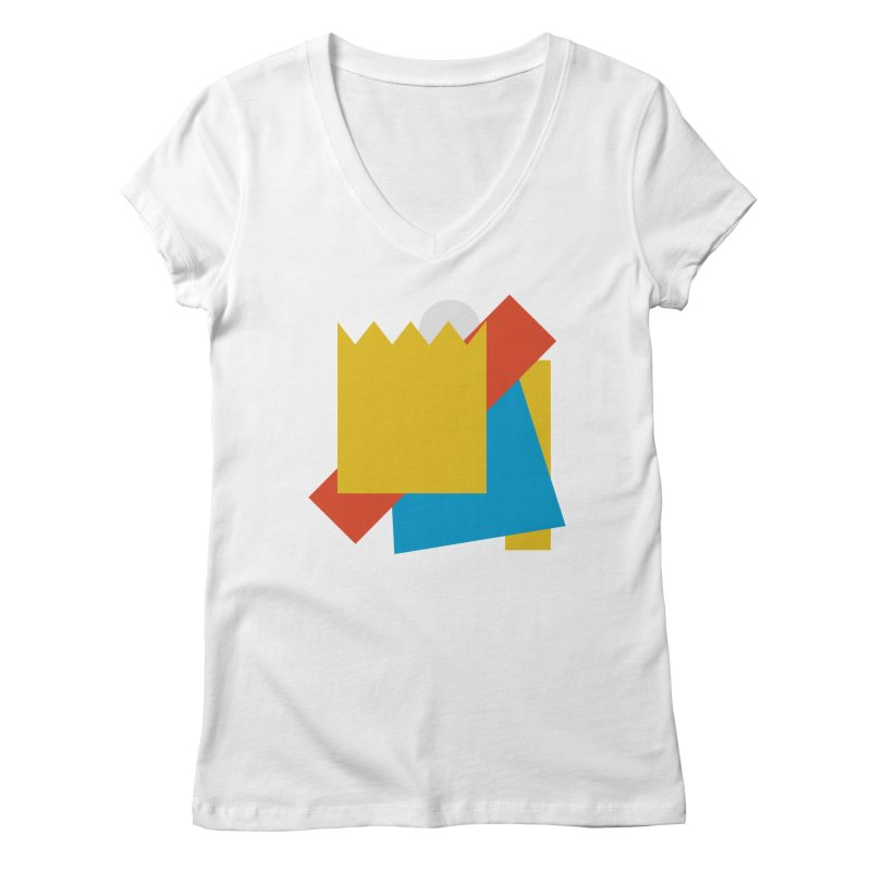 Holomew Women's Regular V-Neck by Shadeprint's Artist Shop
