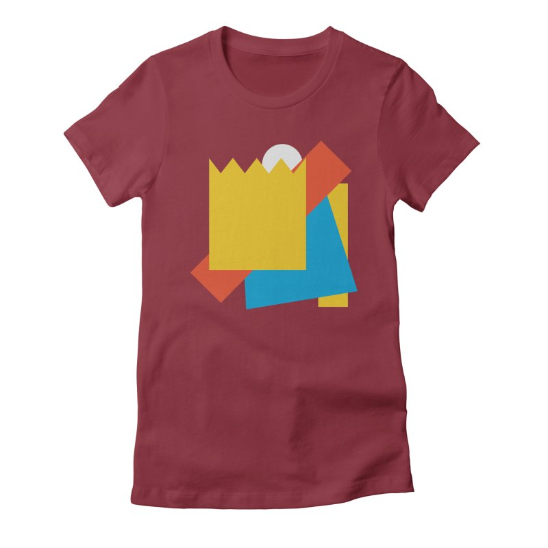 Holomew Women's Fitted T-Shirt by Shadeprint's Artist Shop