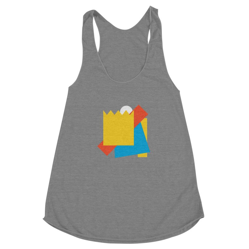Holomew Women's Racerback Triblend Tank by Shadeprint's Artist Shop