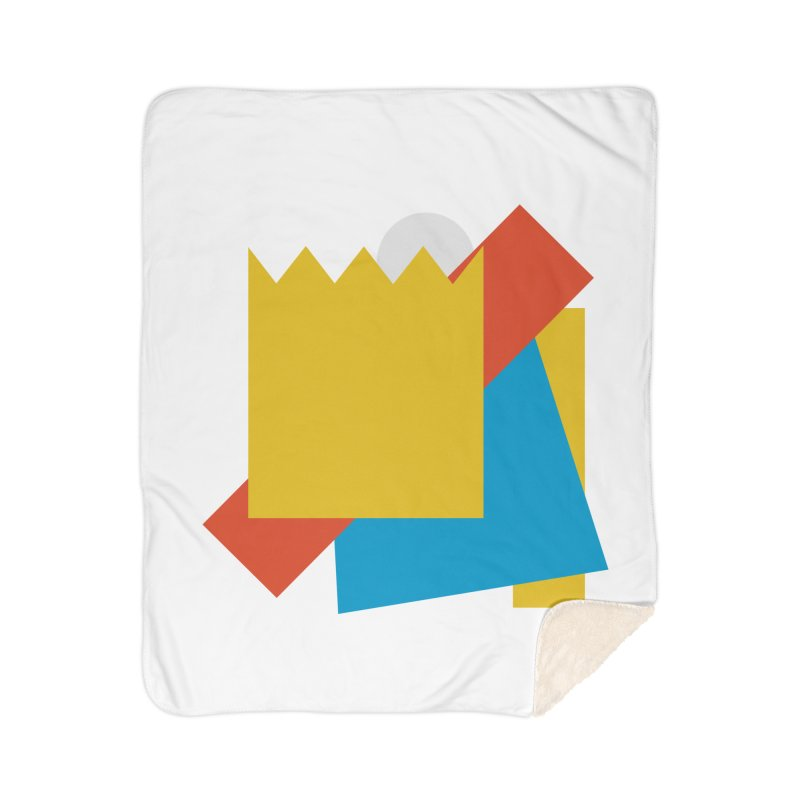 Holomew Home Sherpa Blanket Blanket by Shadeprint's Artist Shop