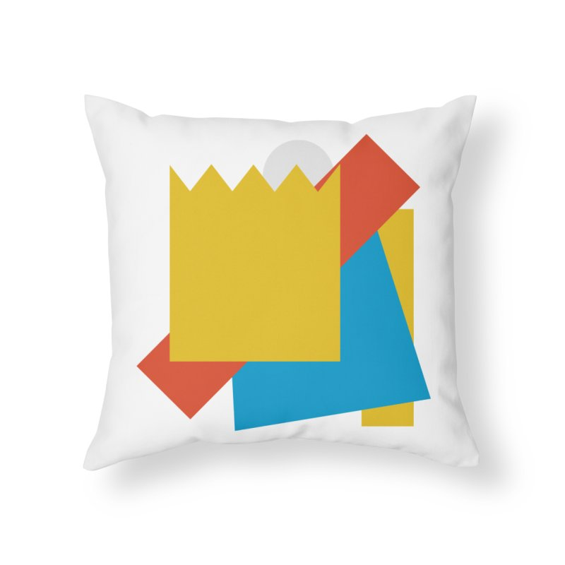 Holomew Home Throw Pillow by Shadeprint's Artist Shop