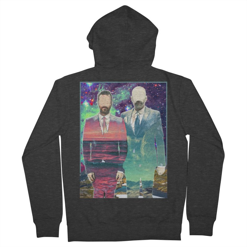 The Imperilment Department Men's French Terry Zip-Up Hoody by Shadeprint's Artist Shop