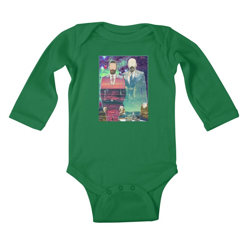 The Imperilment Department Kids Baby Longsleeve Bodysuit by Shadeprint's Artist Shop