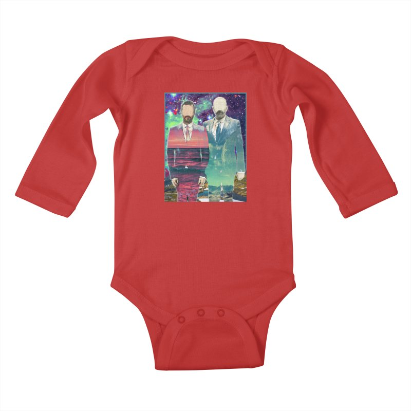 The Imperilment Department Kids Baby Longsleeve Bodysuit by Shadeprint's Artist Shop